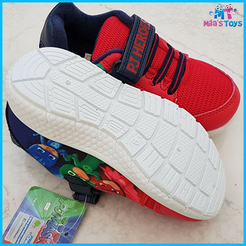 PJ Masks Gillan Canvas Trainer Shoes sizes 6-12 UK brand new