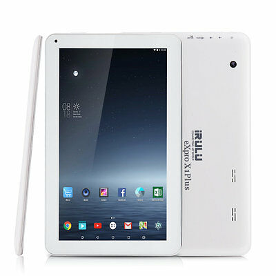 "iRULU X1 Plus Tablet PC 10.1"" 8GB Android 6.0 Lollipop Quad Core Bluetooth HD"
