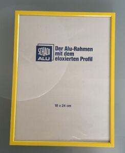 Bilderrahmen Alu-Rahmen Gelb 18 x 24 cm - Groß-Umstadt, Deutschland - Bilderrahmen Alu-Rahmen Gelb 18 x 24 cm - Groß-Umstadt, Deutschland