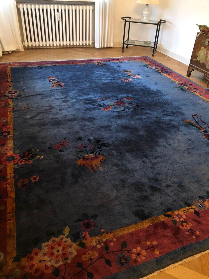 Gulvtæppe, ægte tæppe, b: 280 l: 355