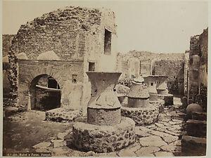 Pompei-Mulini-E-Forno-Italia-Vintage-Albumina-Ca-1880