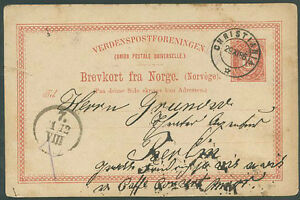 NORWAY-TO-GERMANY-Postal-Stationery-1896