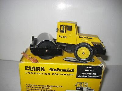 Baufahrzeuge Modellbau Analytisch Clark Scheid Pv 60 Walze #292.1 Gescha Conrad 1:50 Ovp