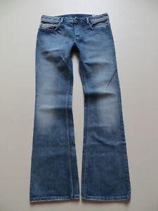 Diesel-ZATHAN-wash-008AT-Bootcut-Jeans-Hose-W-32-L-34-Vintage-Schlaghose-KULT
