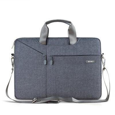 WIWU 13 inch Laptop Sleeve Case Messager Shoulder Bag Nylon Waterproof Briefcase