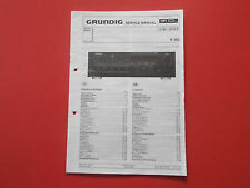 Grundig R 303 Receiver org. Service Anleitung Manual