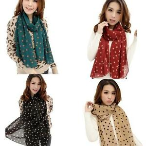 2015-New-Stylish-Scarf-Girl-Long-Soft-Silk-Chiffon-Wrap-Polka-Dot-Shawl-Scarve