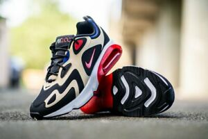 Nike-Air-Max-200-Size-6-EUR-40-Women-039-s-Shoes-Gold-Black-Red-Trainers