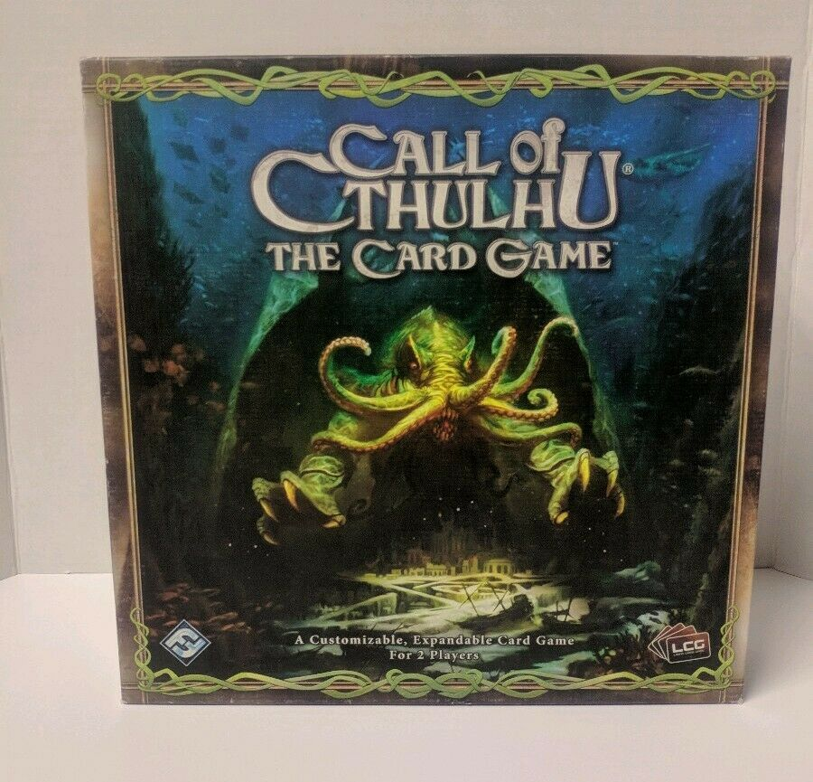 Call Of Cthulhu  The Card Game - Base Core LCG Fantasy Flight
