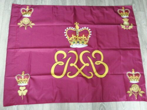 Grenadier guards Royal Standard colours flag