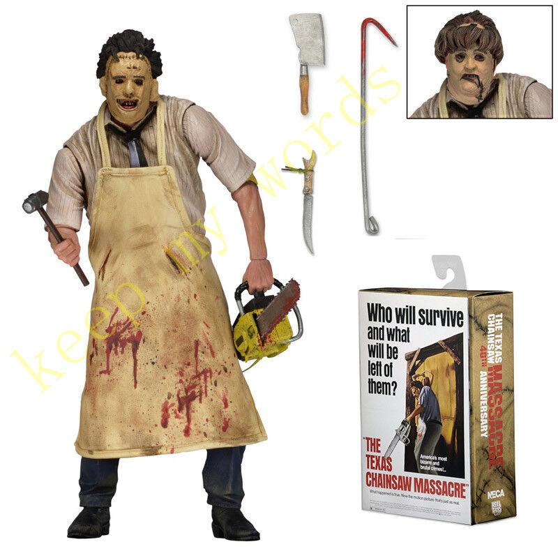 Neca The Texas Chainsaw Massacre Ultimate Leatherface 7  PVC