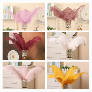 Wedding Costume DIY Plume 40-45cm Quality Ostrich Feathers Decor Party Ornaments