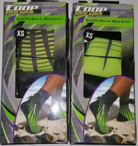 Beach Socks XS or XXS 2x Sand Wikis
