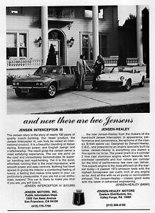 1973 Jensen-Healey & Jensen Interceptor III Original Ad