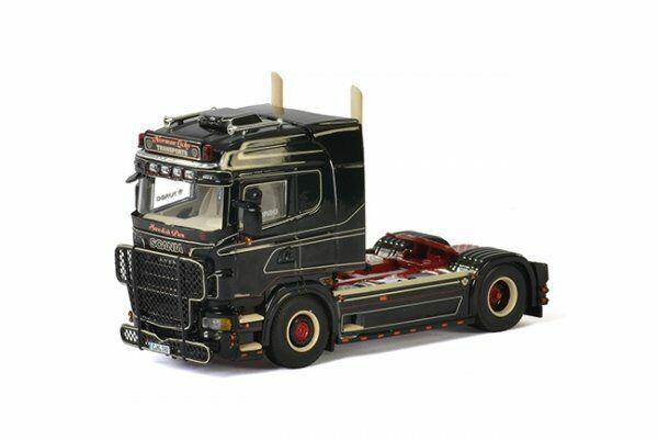 1 50 WSI Scania R Highline Norman Lichy trasporti 2-ACH ZM 01-2105