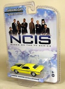 Greenlight-1-64-Scale-NCIS-Gibb-039-s-Dodge-Challenger-Yellow-Diecast-Model-Car