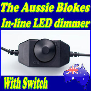 In-Line-LED-lighting-dimmer-with-on-off-dial-switch-Caravan-Camping-Boat