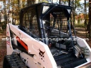 Image is loading NEW-Custom-Cab-Enclosure-Kit-&-Door-Bobcat- & NEW Custom Cab Enclosure Kit u0026 Door Bobcat Skid Steer 742 742B 743 ... pezcame.com