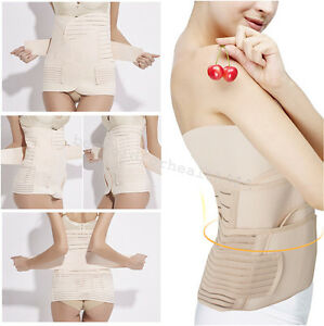 Postpartum Belly 3 in 1 Post Partum Support Girdle C ...