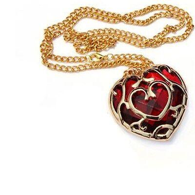 Legend of Zelda Skyward Sword Heart Container Necklace Cosplay Pendant jewelry