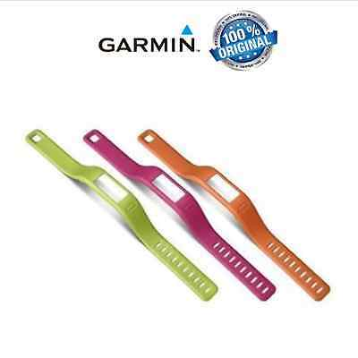 Garmin vivofit Replacement Bands - Pack of 3 Large or Small (Orange/Pink/Green)