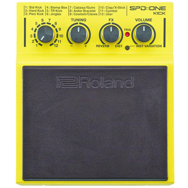 Roland SPD One Kick Percussion Pad mit 22 Sounds