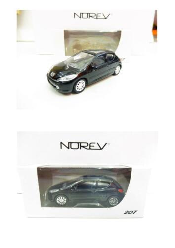 "Peugeot 207 3P Schwarz 1//64 3 Inches Norev Neuware Neu /"" Port Gruppiert"""
