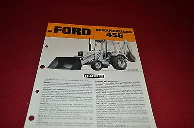 Ford Tractor 555 Backhoe Loader Dealer/'s Brochure DCPA2