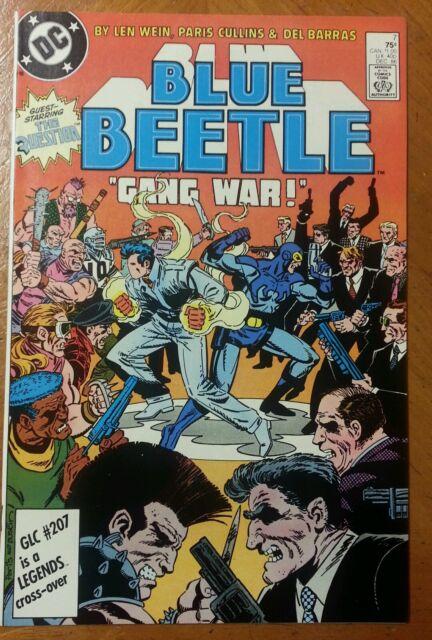 Blue Beetle (1986) #7 VF+ Question 1 Key DC Movie Comic 1