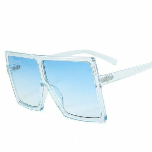 Polarisierte Damen Sonnenbrille Vintage Großen Rahmen Quadrat Gläser UV400 Trend