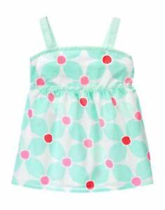 NWT Gymboree Girls Ice Cream Parlor Pink Bunny Rabbit Tank Top Size 4 5 7 8 10