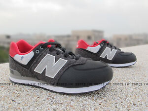 official photos 26626 f3ba5 YOUTH NEW BALANCE NB 574 CLASSIC BLACK CASUAL RUNNING SHOES ...