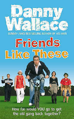 """""""AS NEW"""" Friends Like These, Wallace, Danny, Book"""