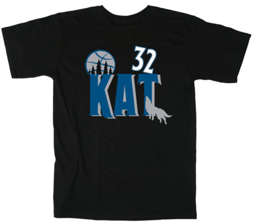"Karl Anthony Towns Minnesota Timberwolves /""KAT/"" jersey T-shirt  S-5XL"