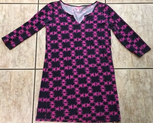 🐸 Lilly Pulitzer Frog Pattern Small Tunic Caftan