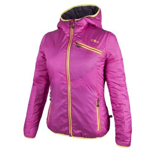 CMP vellón de transición chaqueta rosa capucha primaloft ® caliente