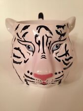 WHITE TIGER Cup Mug Barnum Bailey Circus 3-D Figure Mug Greatest Show on Earth
