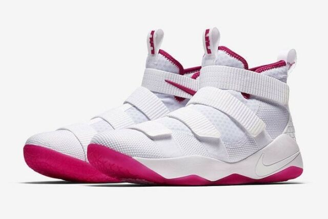 lebron soldier 11 pink off 63% - www