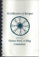 *UNION ME *PARK 'N PLAY COMMITTEE COOK BOOK *COLLECTION OF RECIPES *COMMUNITY