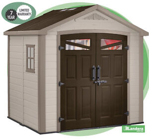 image is loading keter bellevue garden shed 2555w x 2050d x - Garden Sheds Very