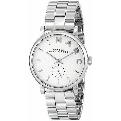 Marc by Marc Jacobs Women's Baker MBM3242 Silver Stainless-Steel Quartz Watch