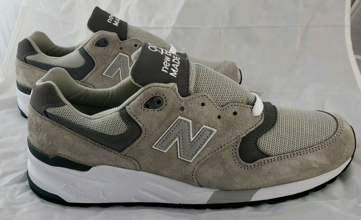 New Balance 999 M999CGL Mens Size 11.5 Grey Pewter Running shoes Made in USA