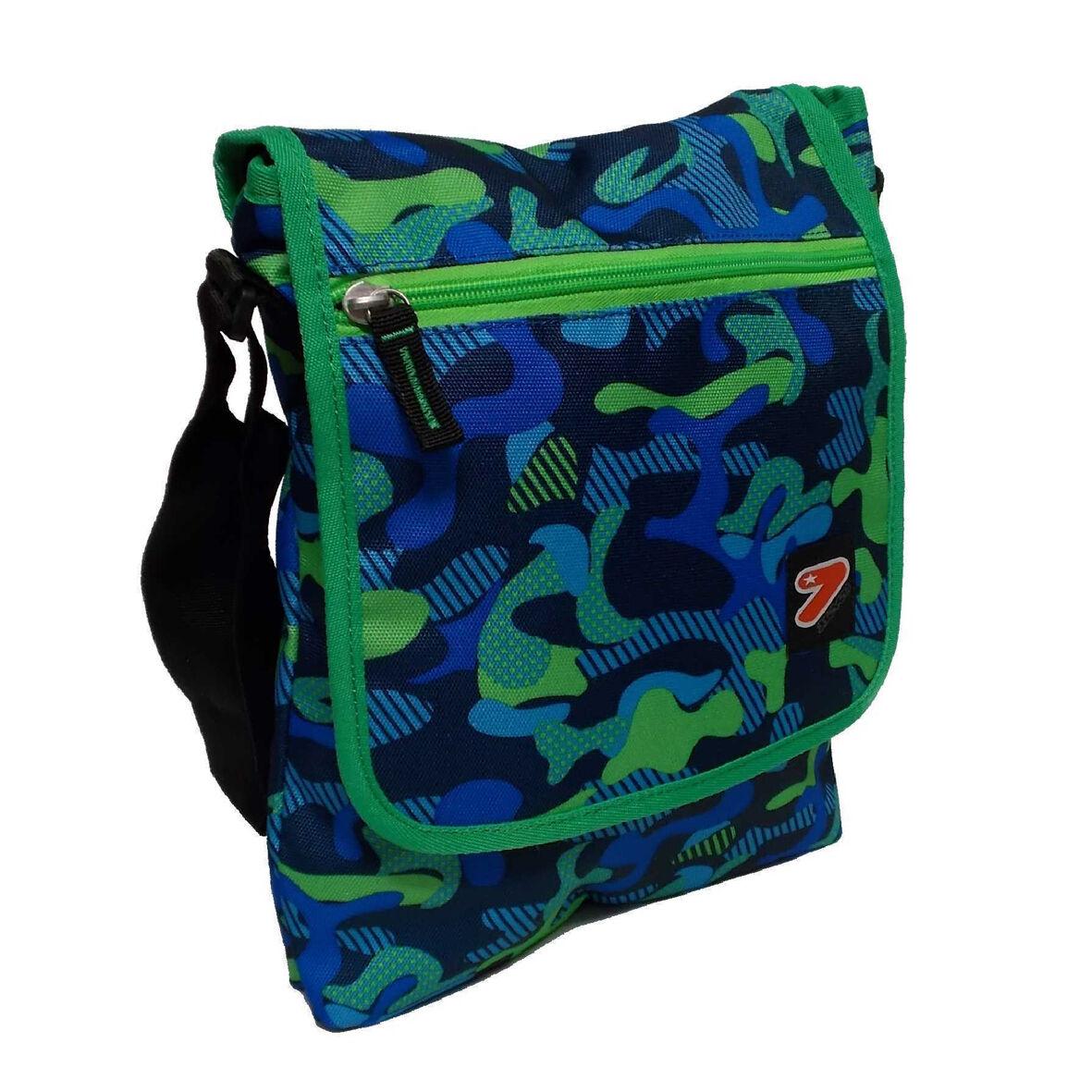 Schultergurt bringt Tablet einstellbar SEVEN Freizeit 2 Taschen Taschen Taschen Tarnung grün  | Online Store  60689d