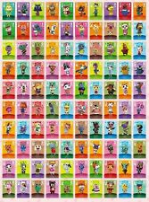 ANIMAL CROSSING AMIIBO SERIES 4 CARDS ALL CARDS 301 > 400 Nintendo Wii U Switch