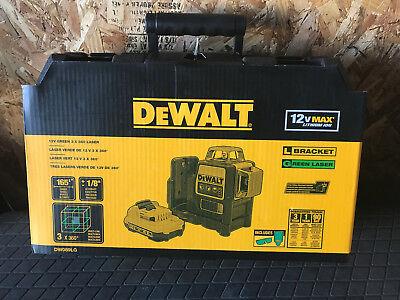 DEWALT DW089LG GREEN LASER
