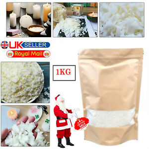 5KG Soy Soya Wax Flakes 100/% Pure Clean Burning No soot Natural Candle Making UK