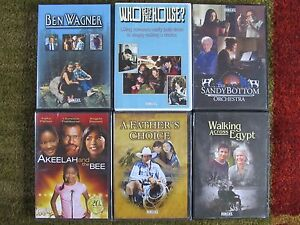 Set Of 6 Feature Films For Families Dvds New Ebay