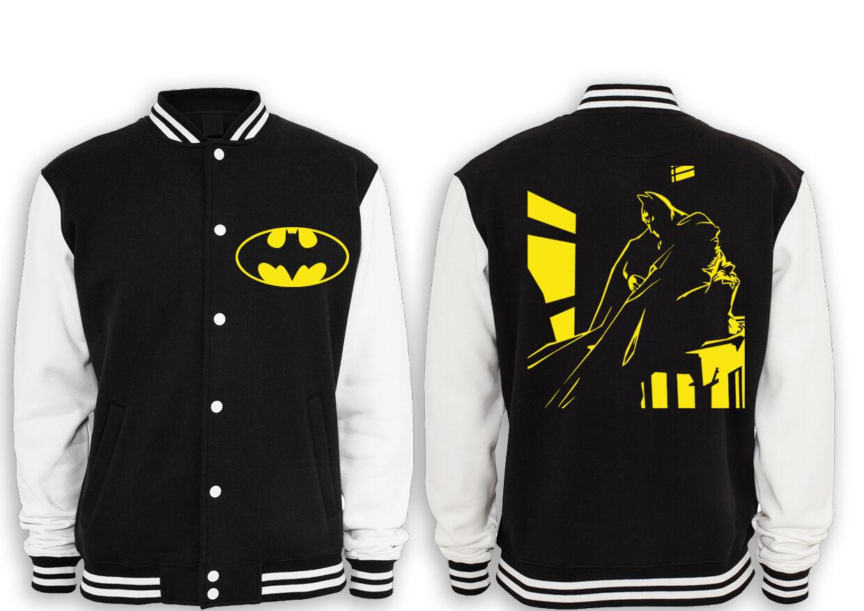 Batman Logo FB, Premium College Giacca Arkham, Joker, dark,