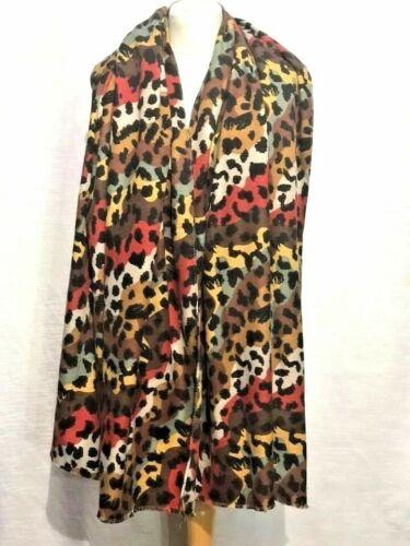 Leopard Print Women shawl Ladies Winter Scarf Pashmina Stole Blanket Wrap