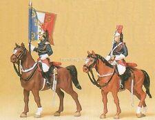 H0 Preiser 10460 Garde Rèpublicaine zu Pferd. OVP